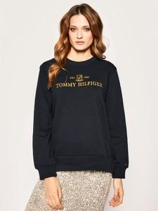 Granatowa bluza Tommy Hilfiger krótka