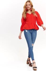 Czerwona koszula Top Secret