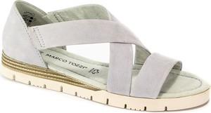 Sandały Marco Tozzi ze skóry