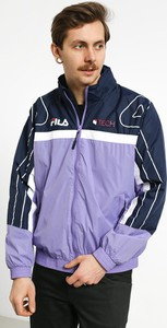Fioletowa kurtka Fila w młodzieżowym stylu