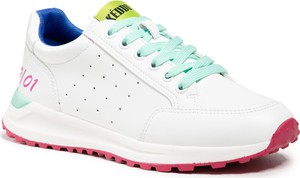 Buty sportowe KEDDO ze skóry ekologicznej