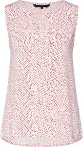 Różowa bluzka Vero Moda bez rękawów