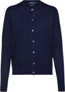 Niebieski sweter POLO RALPH LAUREN z bawełny