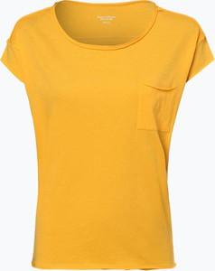 Pomarańczowy t-shirt Marc O'Polo DENIM z krótkim rękawem