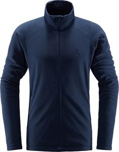 Granatowa bluza Haglöfs w sportowym stylu