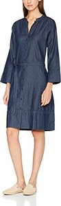 Niebieska sukienka le mont saint michel