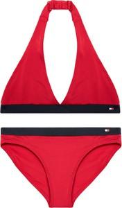 Czerwony strój kąpielowy Tommy Hilfiger