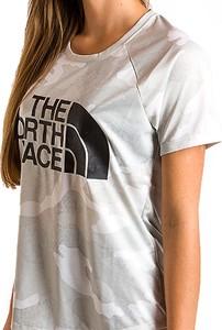Bluzka The North Face z okrągłym dekoltem z tkaniny