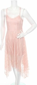Różowa sukienka H&m Divided