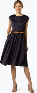 Granatowa sukienka Hugo Boss