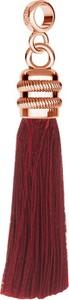 GIORRE BORDOWY CHWOST CHARMS BEADS ZAWIESZKA SREBRO 925 : Kolor pokrycia srebra - Pokrycie Różowym 18K Złotem , Wariant - Beads