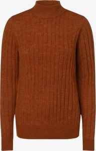Brązowy sweter Y.A.S w stylu casual