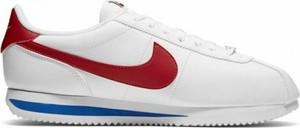 Buty sportowe Nike ze skóry sznurowane