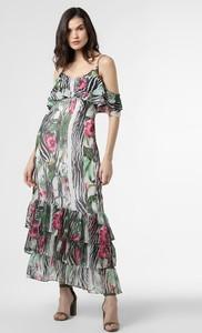 Sukienka Guess maxi z dekoltem w kształcie litery v