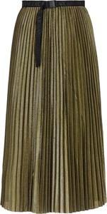 Zielona spódnica Armani Exchange midi