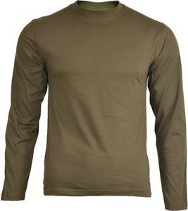 Koszulka z długim rękawem Mil-Tec z bawełny w stylu casual z długim rękawem