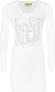 Sukienka Versace Jeans z okrągłym dekoltem