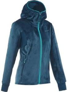 Granatowa bluza Quechua z plaru
