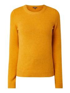 Sweter Montego w stylu casual z wełny