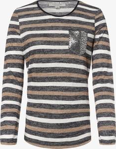 T-shirt comma, z długim rękawem