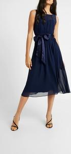 Granatowa sukienka Dorothy Perkins bez rękawów