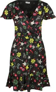 Sukienka Liu-Jo w stylu casual z dekoltem w kształcie litery v mini