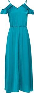 Błękitna sukienka bonprix BODYFLIRT