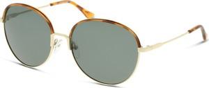 Złote okulary damskie Solaris-polarized