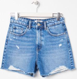 Niebieskie szorty Sinsay z jeansu