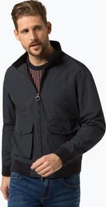 Granatowa kurtka Barbour w stylu casual