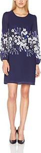Granatowa sukienka yumi