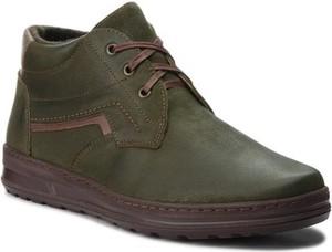 Zielone buty zimowe Lasocki For Men