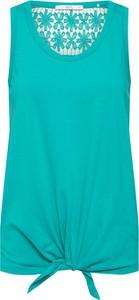 Bluzka edc by Esprit z okrągłym dekoltem w stylu casual bez rękawów