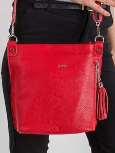 4a3308b76af6d czerwone torebki damskie - stylowo i modnie z Allani