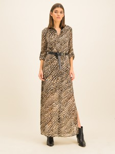 Sukienka Michael Kors maxi w stylu casual koszulowa