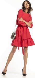 Czerwona sukienka Tessita