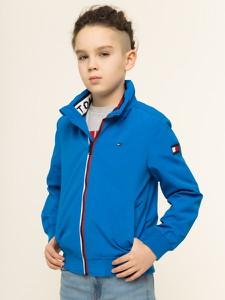 Niebieska kurtka dziecięca Tommy Hilfiger