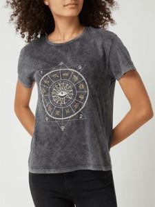 T-shirt Review w młodzieżowym stylu z nadrukiem