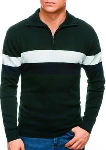 Zielony sweter Edoti w stylu casual