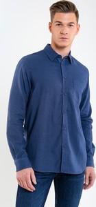 Koszula Big Star w stylu casual z długim rękawem z klasycznym kołnierzykiem