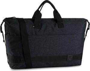 Czarna torebka Strellson duża w stylu casual matowa
