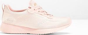 Różowe buty sportowe Skechers