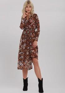 Sukienka Renee midi koszulowa