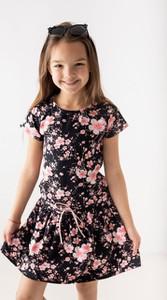 Sukienka dziewczęca Myprincess / Lily Grey z bawełny w kwiatki