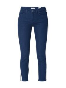 Granatowe jeansy Tommy Hilfiger z bawełny w stylu casual