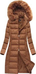 Brązowa kurtka Libland w stylu casual