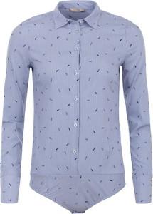 Niebieska bluzka Liu-Jo z tkaniny