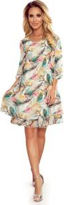 Sukienka NUMOCO z szyfonu