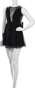 Czarna sukienka For Love & Lemons mini