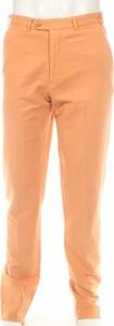 Pomarańczowe spodnie Mabitex